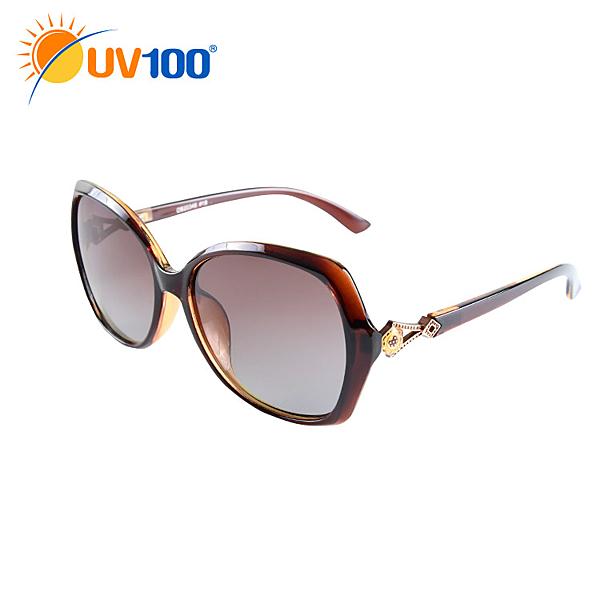 UV100 防曬 抗UV Polarized太陽眼鏡-古典優雅