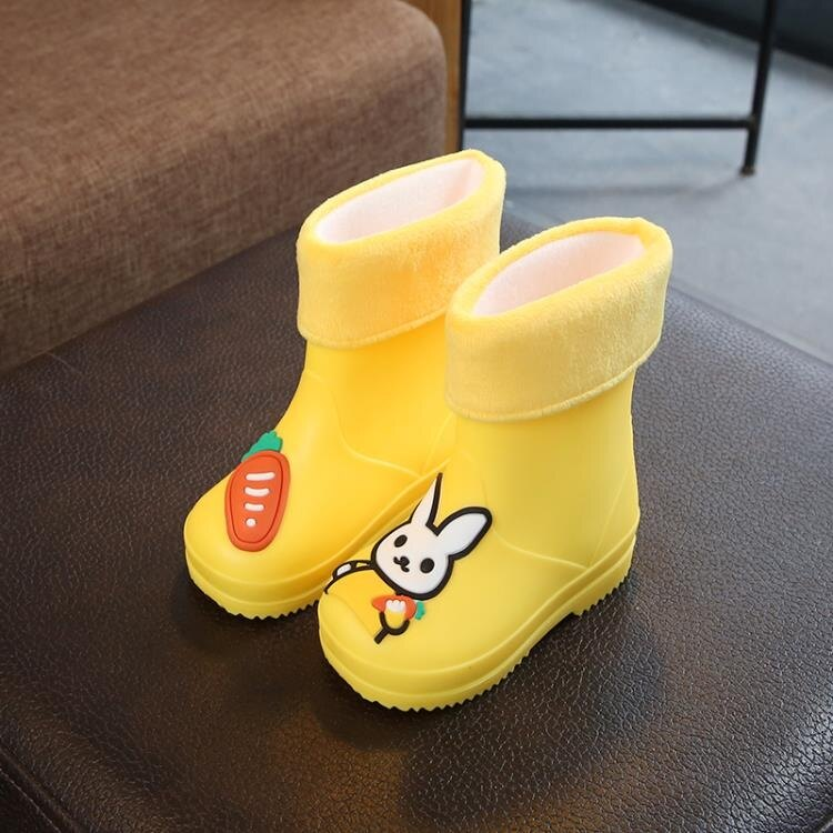 雨鞋 兒童雨鞋1-10歲幼兒水鞋男女童兩用防滑寶寶套鞋小孩雨靴四季膠鞋