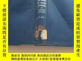 二手書博民逛書店罕見英文同義語字典(英文原版)Y223356