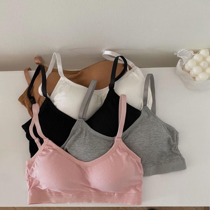 [免運]無鋼圈內衣 23k186美背背心小可愛胸罩集中爆乳裹胸女