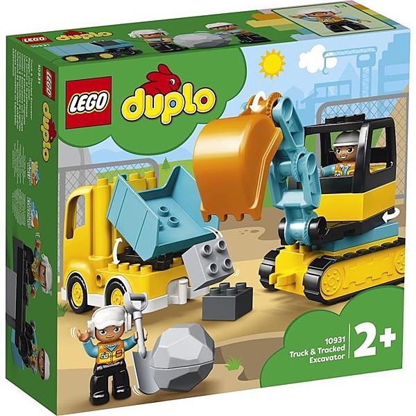 LEGO 樂高  10931 Truck & Tracked Excavator