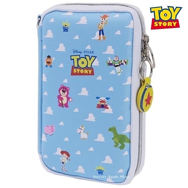 日本限定 迪士尼 玩具總動員 玩具總動員 家族天空版 多功能 收納袋 / 筆袋 / 鉛筆盒