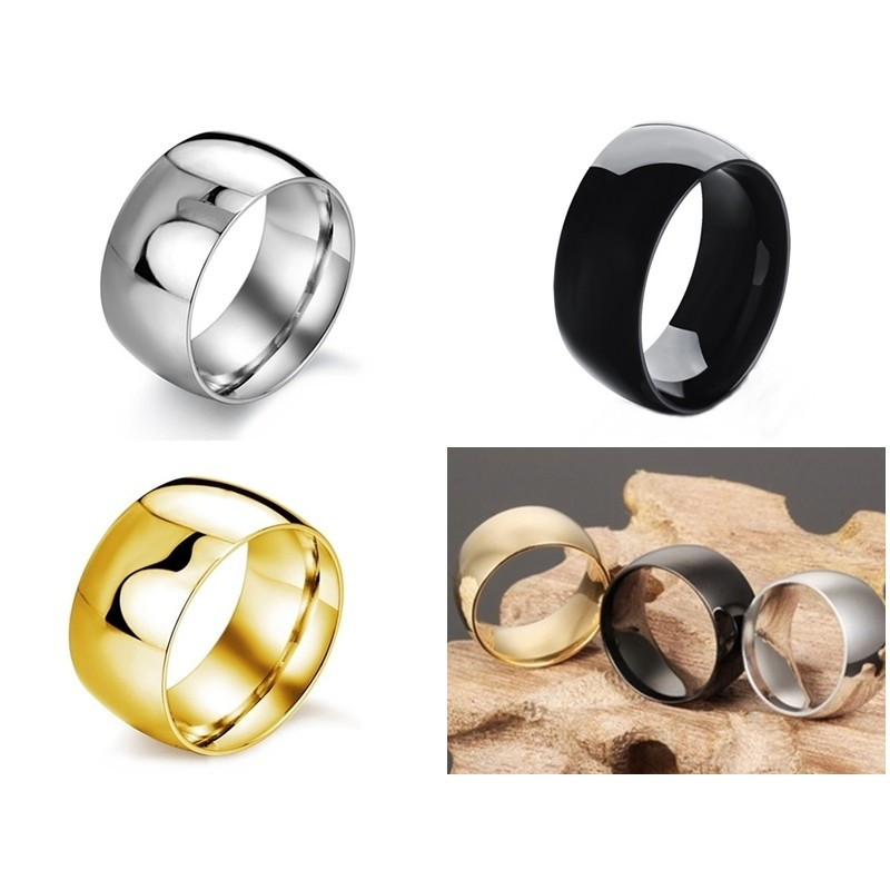 316小舖c89/c375/c376(316l鈦鋼戒指-超寬戒指/超寬對戒/鋼寬版戒指/鋼黑色戒