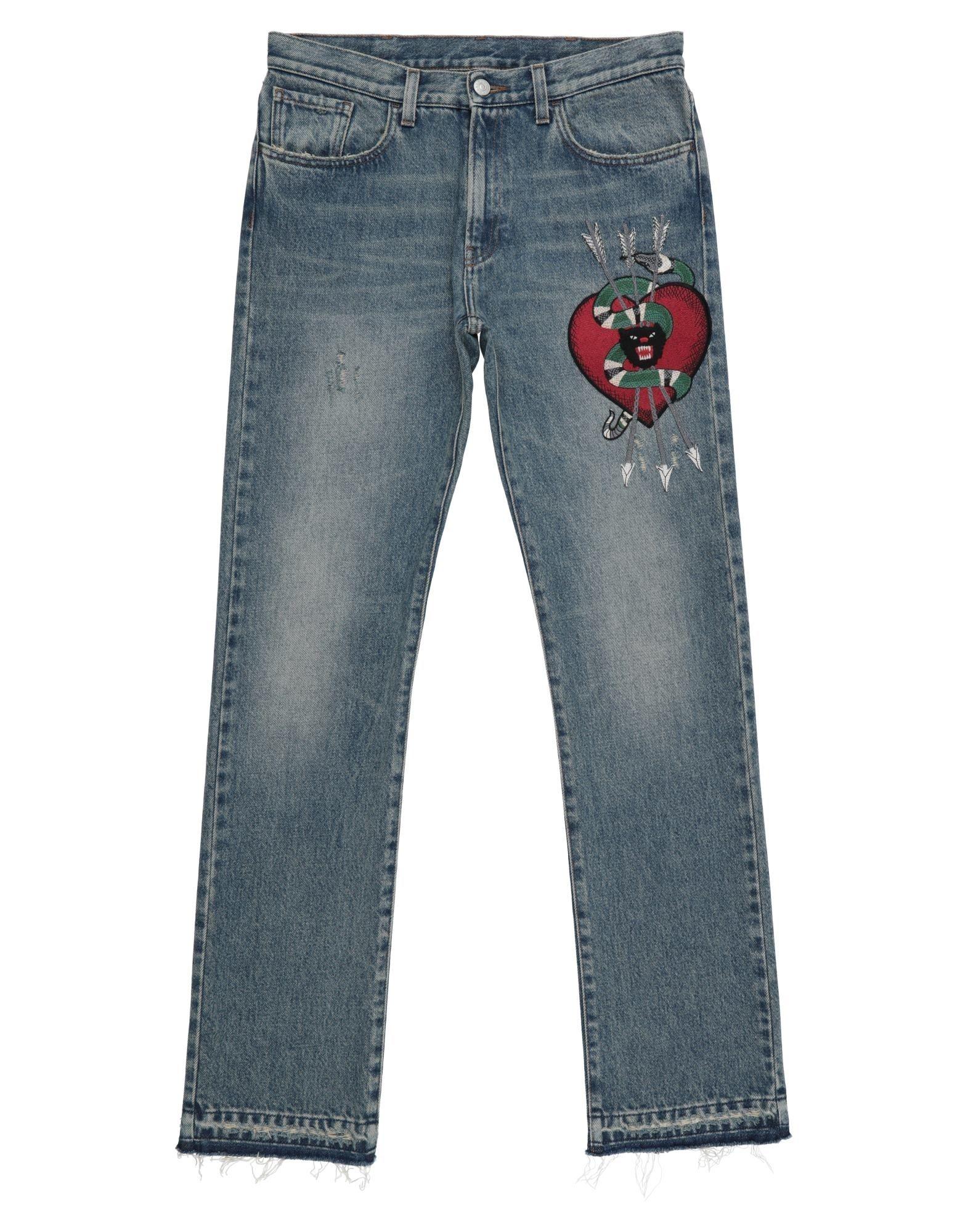 GUCCI Denim pants - Item 42796263