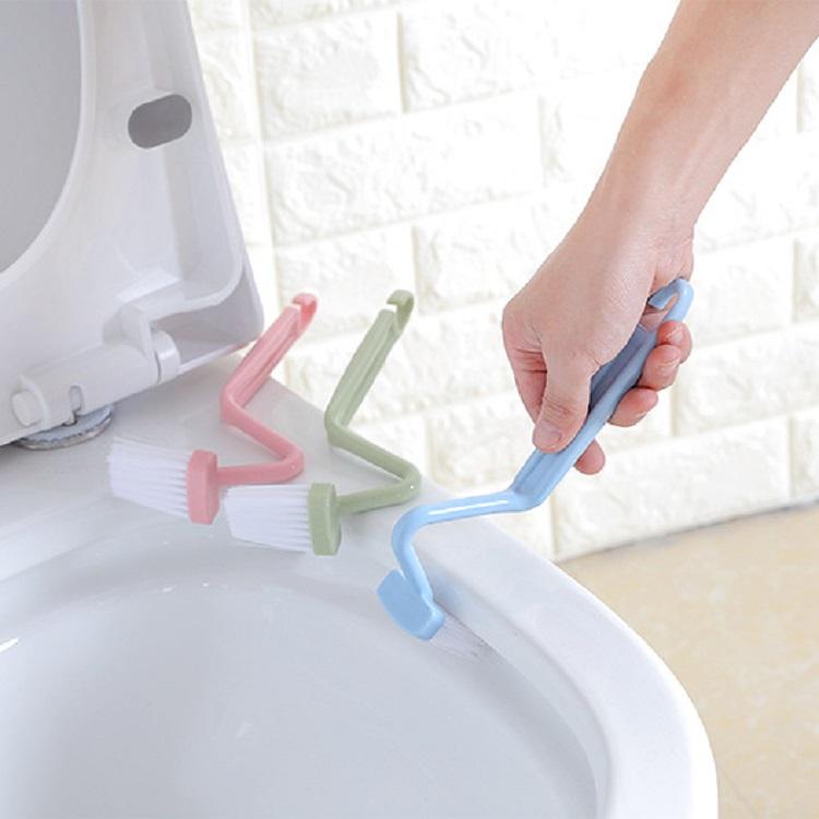 S型馬桶刷彎曲刷 廁所死角清潔刷(2入) 顏色隨機【AE04091-2】i-Style居家生活