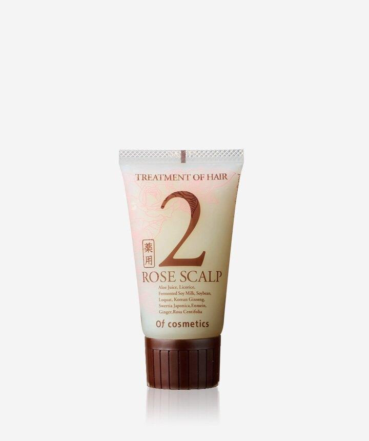 玫瑰頭皮養護調理護髮乳 2-ROS   50g