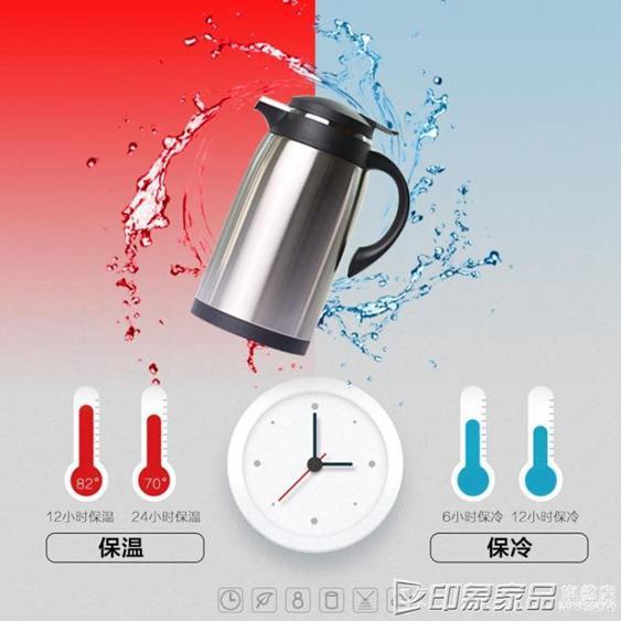 歐式家用保溫壺不銹鋼保溫瓶玻璃內膽熱水瓶大容量暖壺