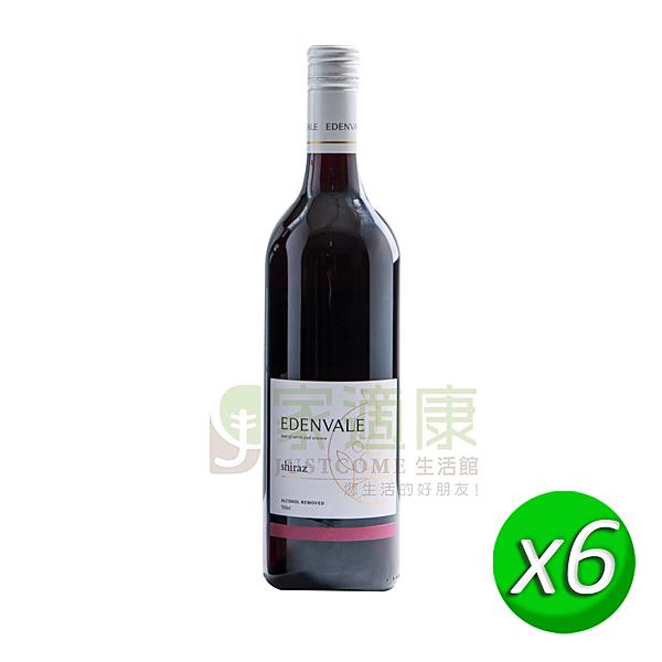 【伊威】養生紅葡萄飲(750ml/瓶) x6瓶/箱 _天然鹼性飲品