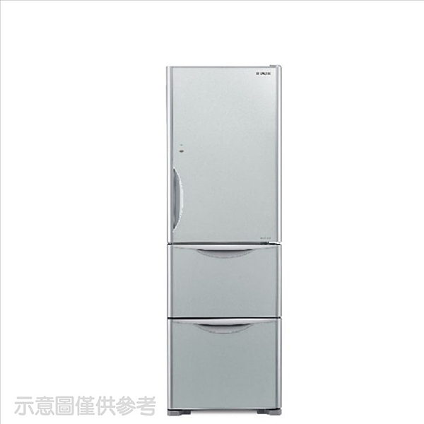 日立【RG41BLGSV】394公升三門(與RG41BL同款)冰箱GSV琉璃灰