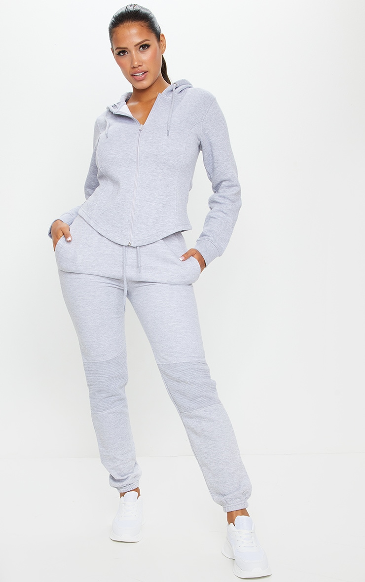 Shape Grey Panel Detail Track Pants
