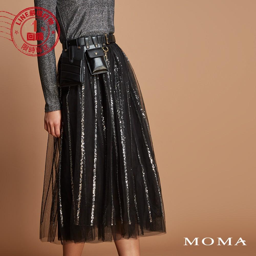 MOMA(92S059)亮片紗裙
