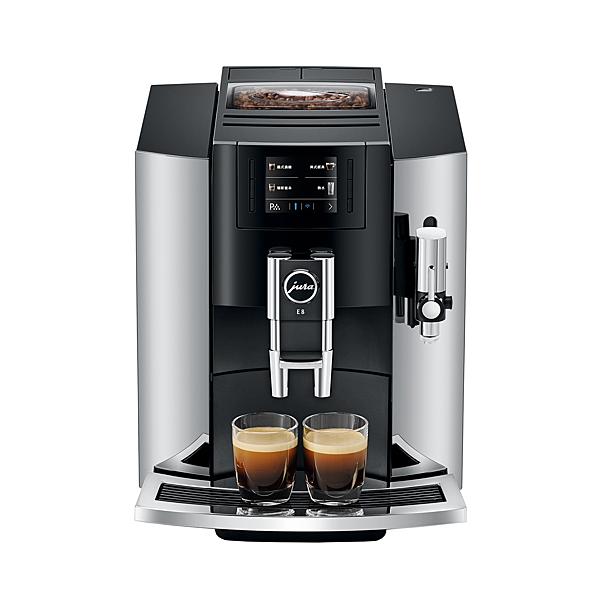 Jura 家用系列 NEW E8 全自動咖啡機 JU15271