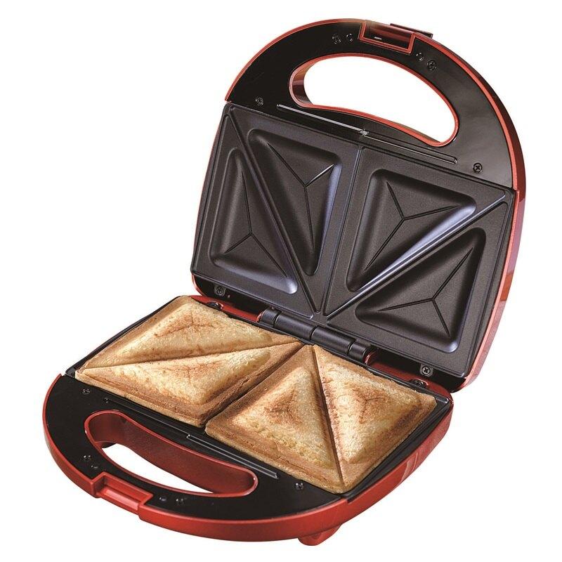 【獅子心】三明治點心機/鬆餅機/手作早餐-紅色LST-138 保固免運