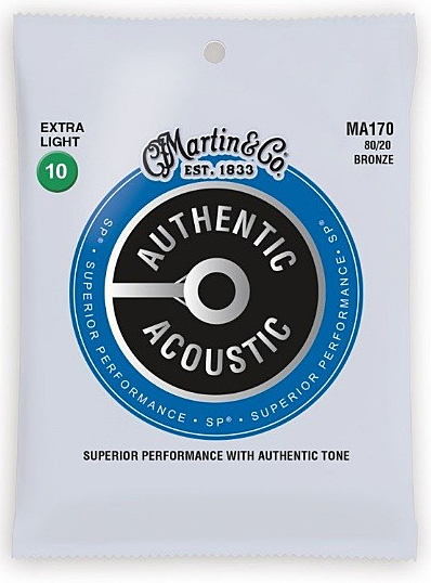 Martin MA170 黃銅 10-47 木吉他弦-10包量販組