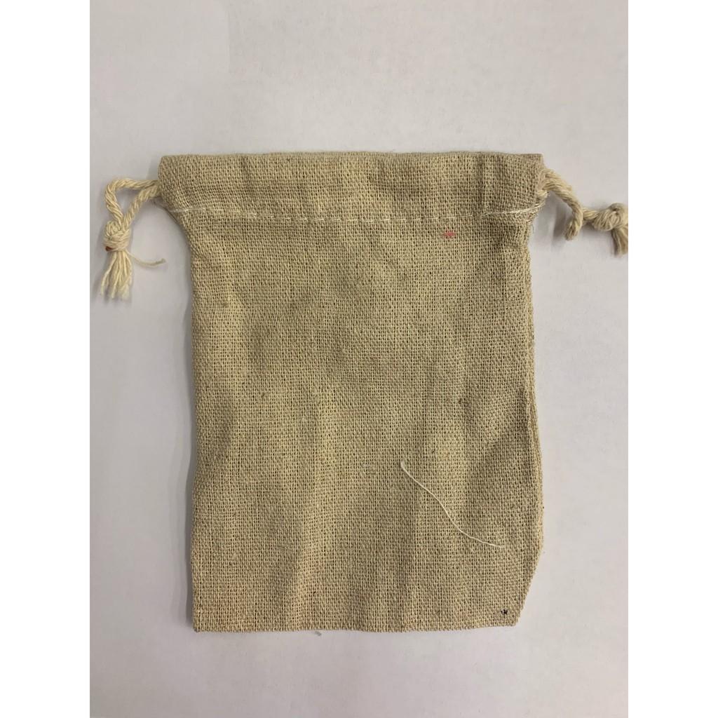 出清-棉麻束口袋 麻布袋 萬用袋 咖啡豆袋 禮品袋