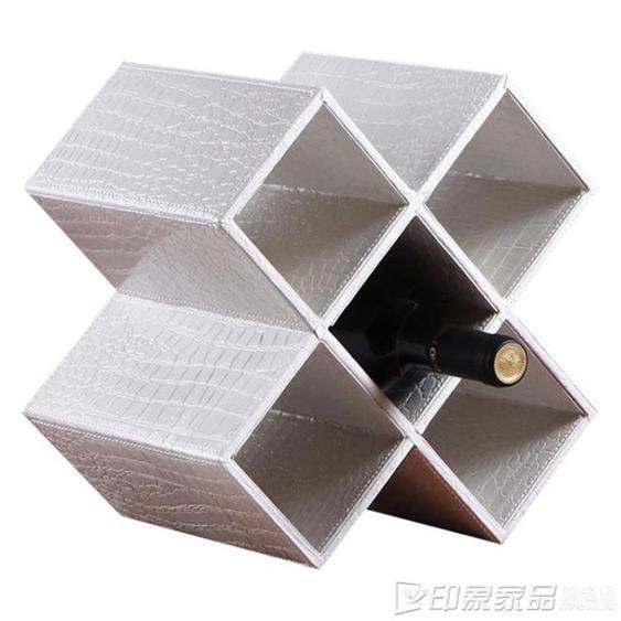 紅酒架 優鵬 歐式紅酒架擺件葡萄酒架格子 創意家用客廳酒瓶酒柜實木