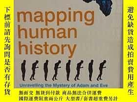 二手書博民逛書店人類進化史:亞當夏娃之謎罕見Steve Olson:Mappin