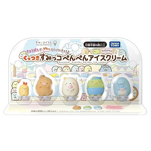 《 TAKARA TOMY 》角落小夥伴冰淇淋商店人偶組  /  JOYBUS玩具百貨