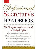 二手書博民逛書店《The Professional Secretary s Ha