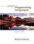 二手書博民逛書店《Concepts Of Programming Languag
