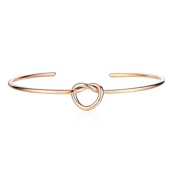 【5折超值價】時尚精美簡約愛心造型女款鈦鋼手環