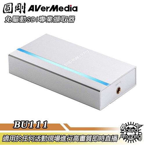 [領券現折$300] 圓剛 BU111 免驅動SDI專業擷取器 ExtremeCap SDI/隨插即用/免驅動/高端攝影機直播【Sound Amazing】