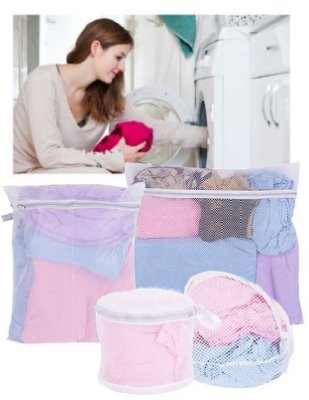 【雷恩的美國小舖】UdiLife生活大師 細網圓型洗衣袋 - 35cm (另有他款賣場)