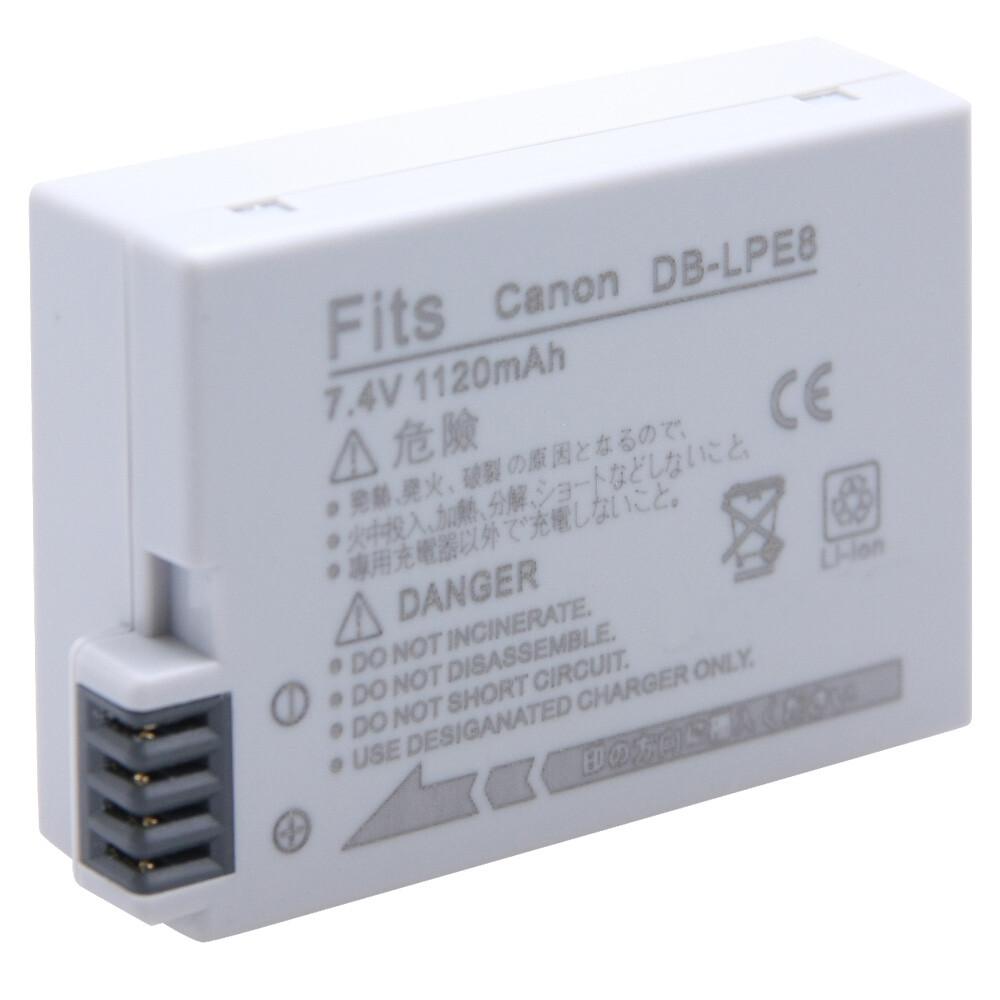 canon lp-e8 鋰電池-ka