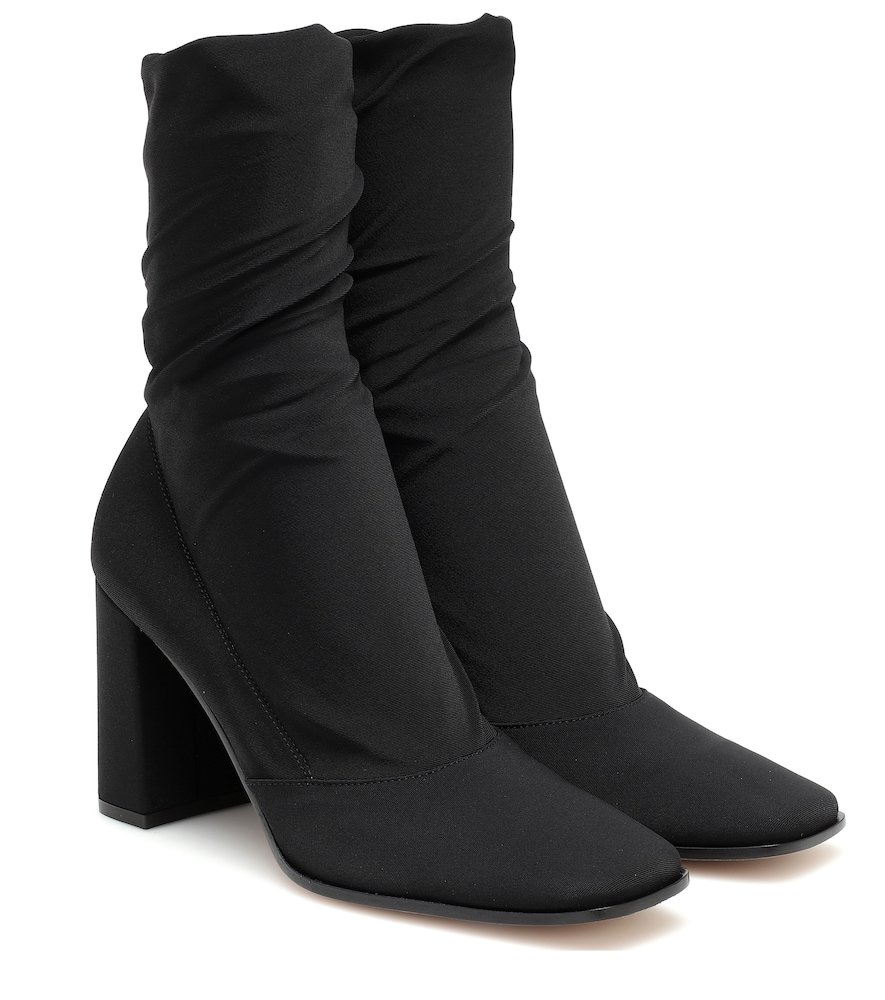 Sock-fit ankle boots