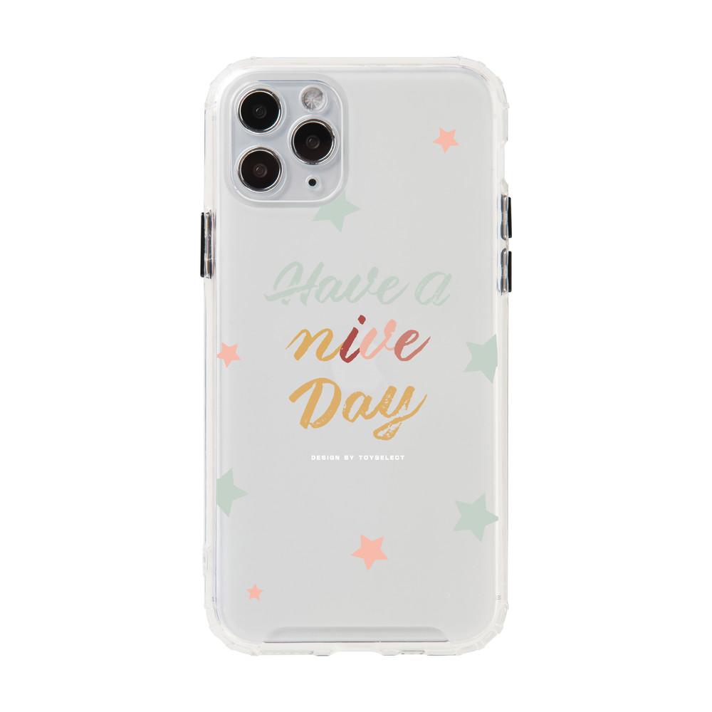 【獨家設計】Smilie星星好日子磨砂霧面防摔iPhone手機殼
