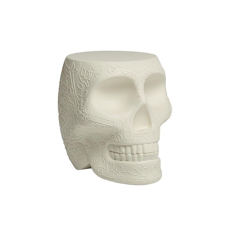 骷髏造型椅(白色)
