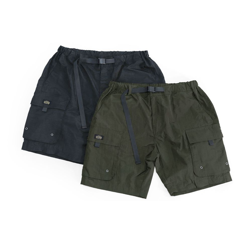Matchwood Pocket WP Shorts 防潑水口袋短褲 (黑/綠)
