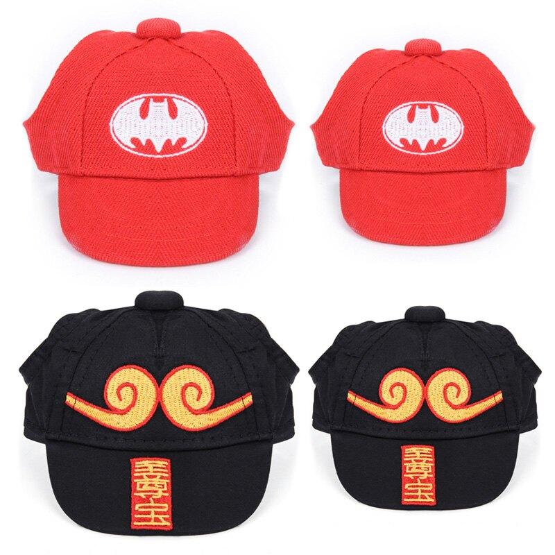 寵物酷帥造形棒球帽 貓狗寵物帽 外出帽 寵物配飾 寵物用品 台灣24H出貨