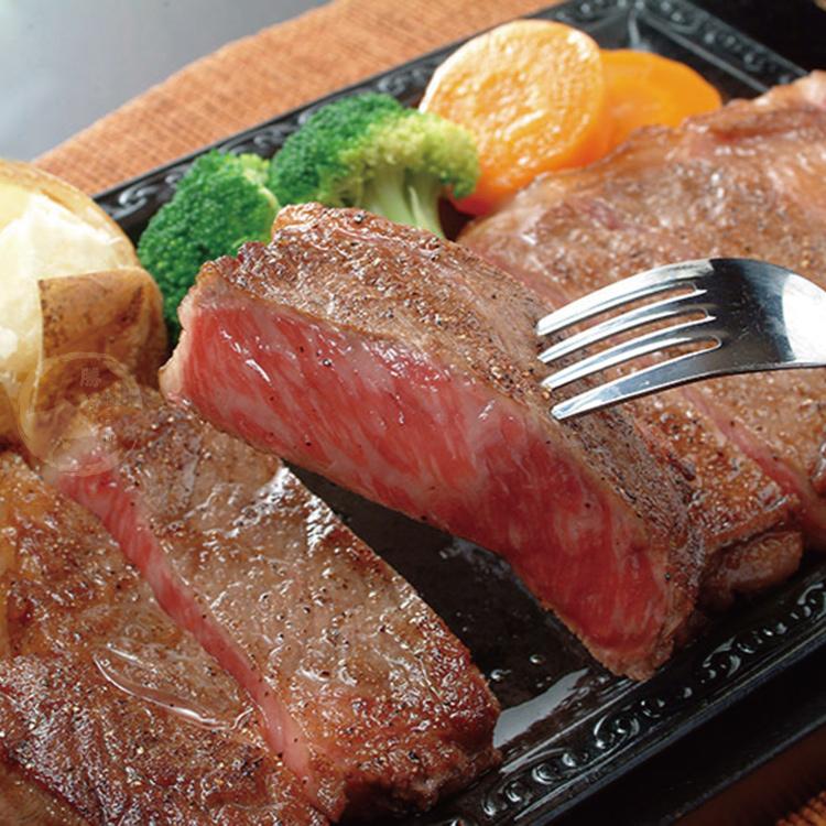 【勝崎-599免運】澳洲日本種M9厚切老饕和牛沙朗1片組(280公克/1片)