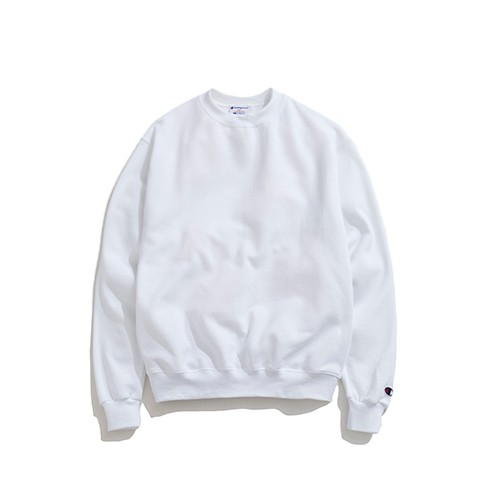 Champion【S600WH】 服飾 S600 大學T 長袖T恤 美規 高磅數 白色 男女都可穿