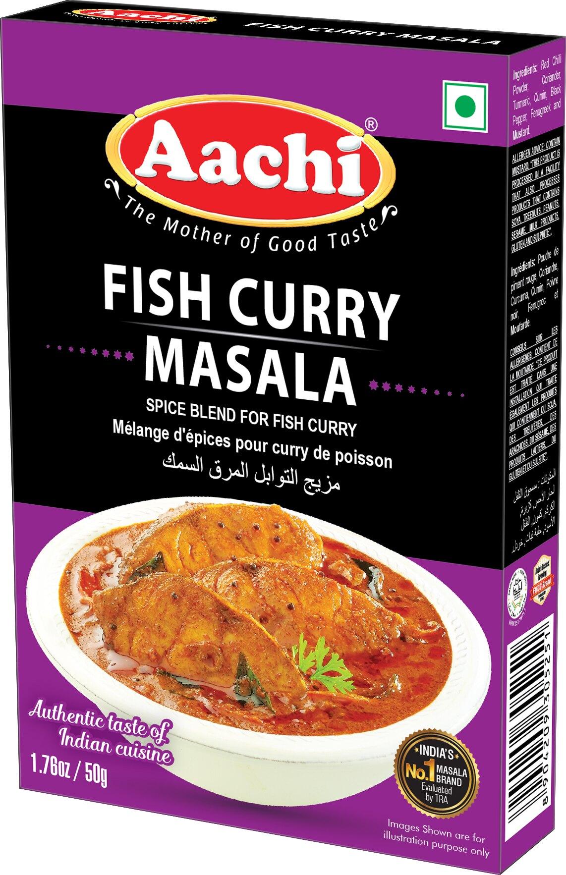 魚 / 海鮮咖哩粉 Fish Curry Masala AACHI 50gm