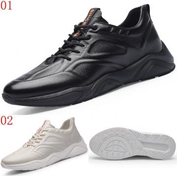 (杰恆)口2019秋輕盈休閑運動鞋兩色可選XA0829735黑/735-2白增高7CM