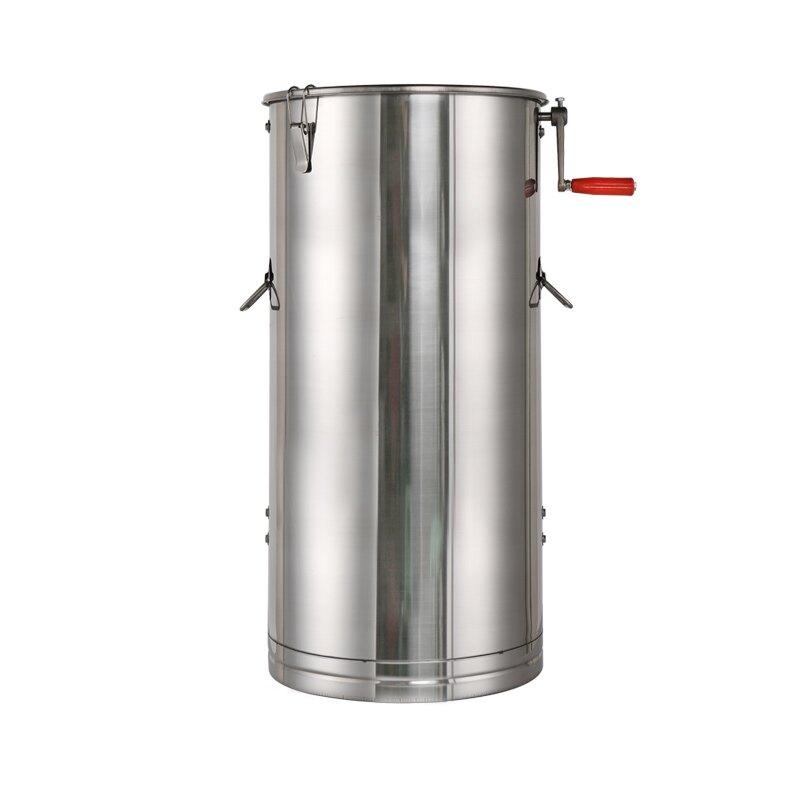 搖蜜機 不銹鋼小型304不銹鋼自動搖糖機打糖機蜂蜜分離機養蜂工具『CM37609』