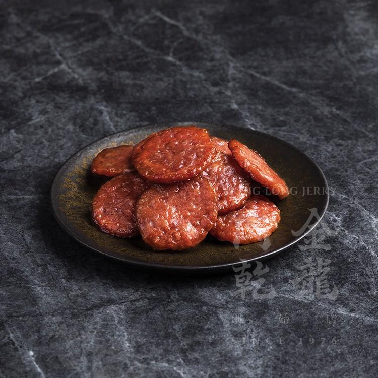 【金龍肉乾】 金錢肉乾 原味/蒜味/辣味 150g 輕巧隨手包