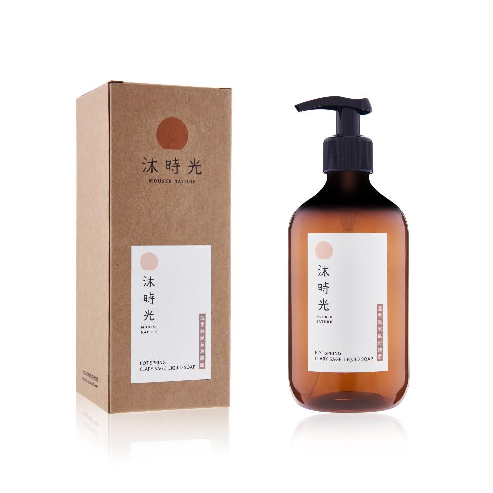 溫泉鼠尾草慕斯皂 液體皂 沐時光 MOUSSE NATURE SOAP