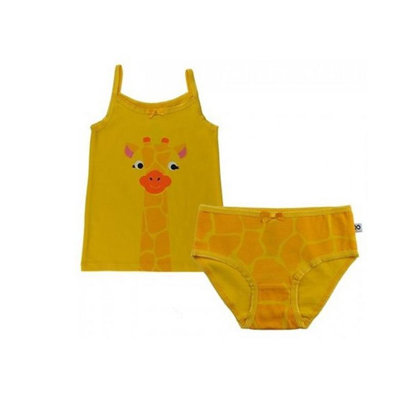 可愛動物內衣/內褲 - 長頸鹿 4y-5y