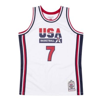 M&N Authentic球員版復古球衣 92 Dream Team #7 Larry Bird