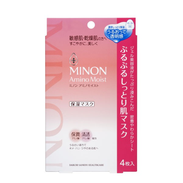 MINON 水潤保濕修護面膜22ml4入【康是美】