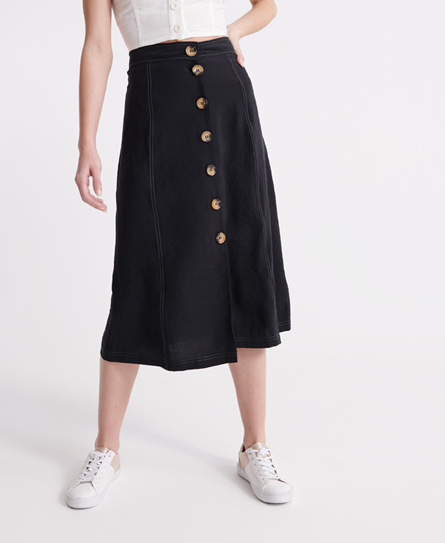 Superdry Valley Midi Skirt