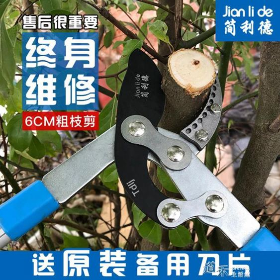 果樹剪刀修枝剪省力粗枝剪大力剪修剪樹枝剪刀伸縮高枝剪園林剪刀