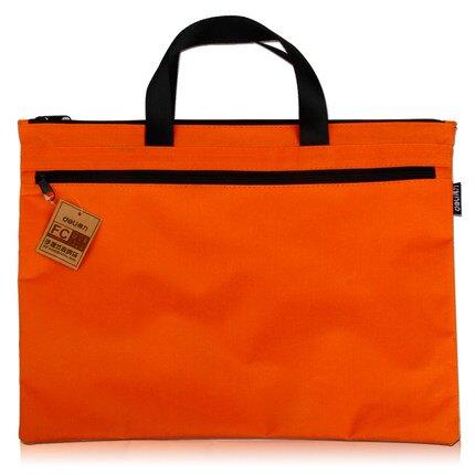 手提式收納商務辦公 多層A4帆布資料大號整理文件袋大容量 【店長推薦】 尾牙年會禮物