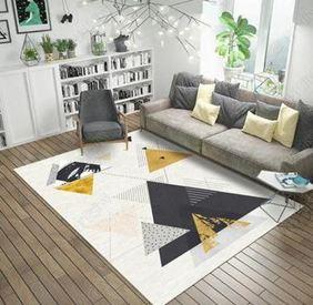北歐地毯客廳沙髮茶幾墊臥室滿鋪房間床邊地墊簡約現代家用可機洗