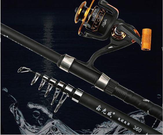 鑫光威魚竿海竿套裝全套海釣竿甩竿超硬釣魚竿遠投拋竿免運