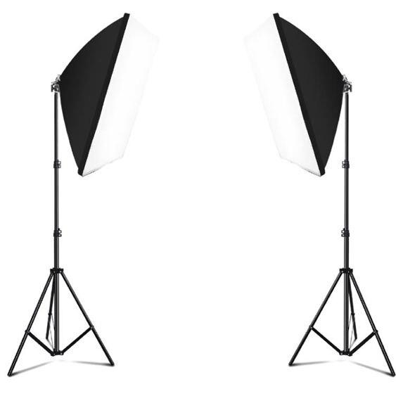 補光燈自拍LED主播補光燈美顏嫩膚柔光燈箱拍照道具打光攝影燈拍攝燈