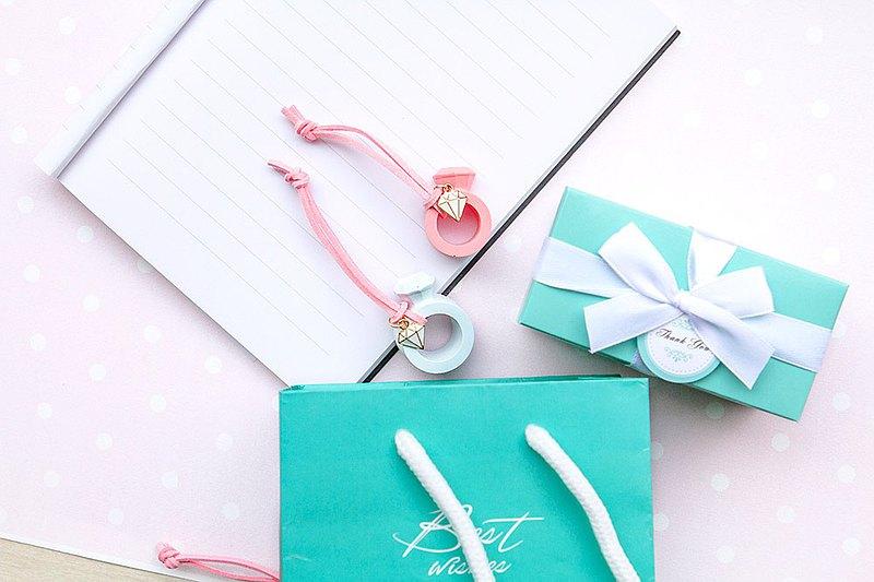 精緻戒指擴香石掛飾 婚禮小物 生日 畢業禮物 情人節禮物 贈品